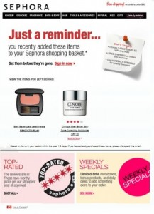 sephora-email-retargeting-sample