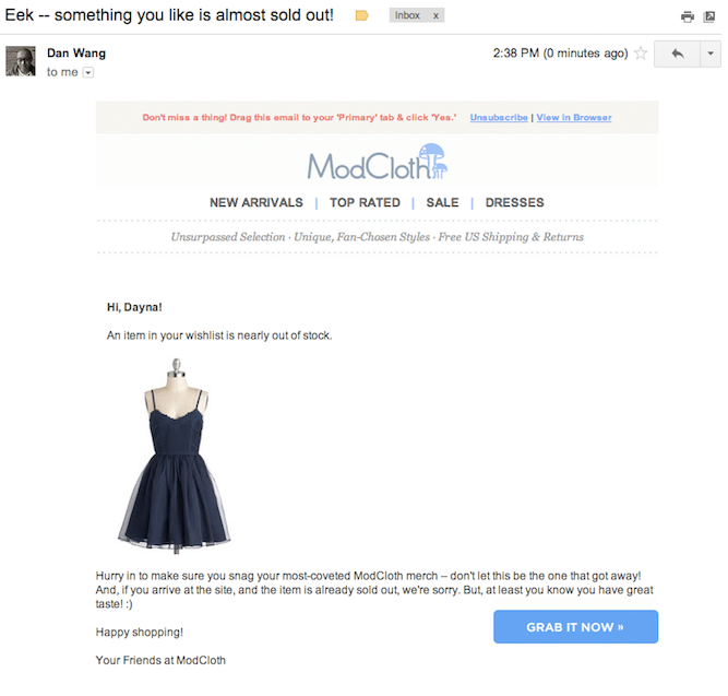 Modcloth-abandoned-wishlist-email-sample